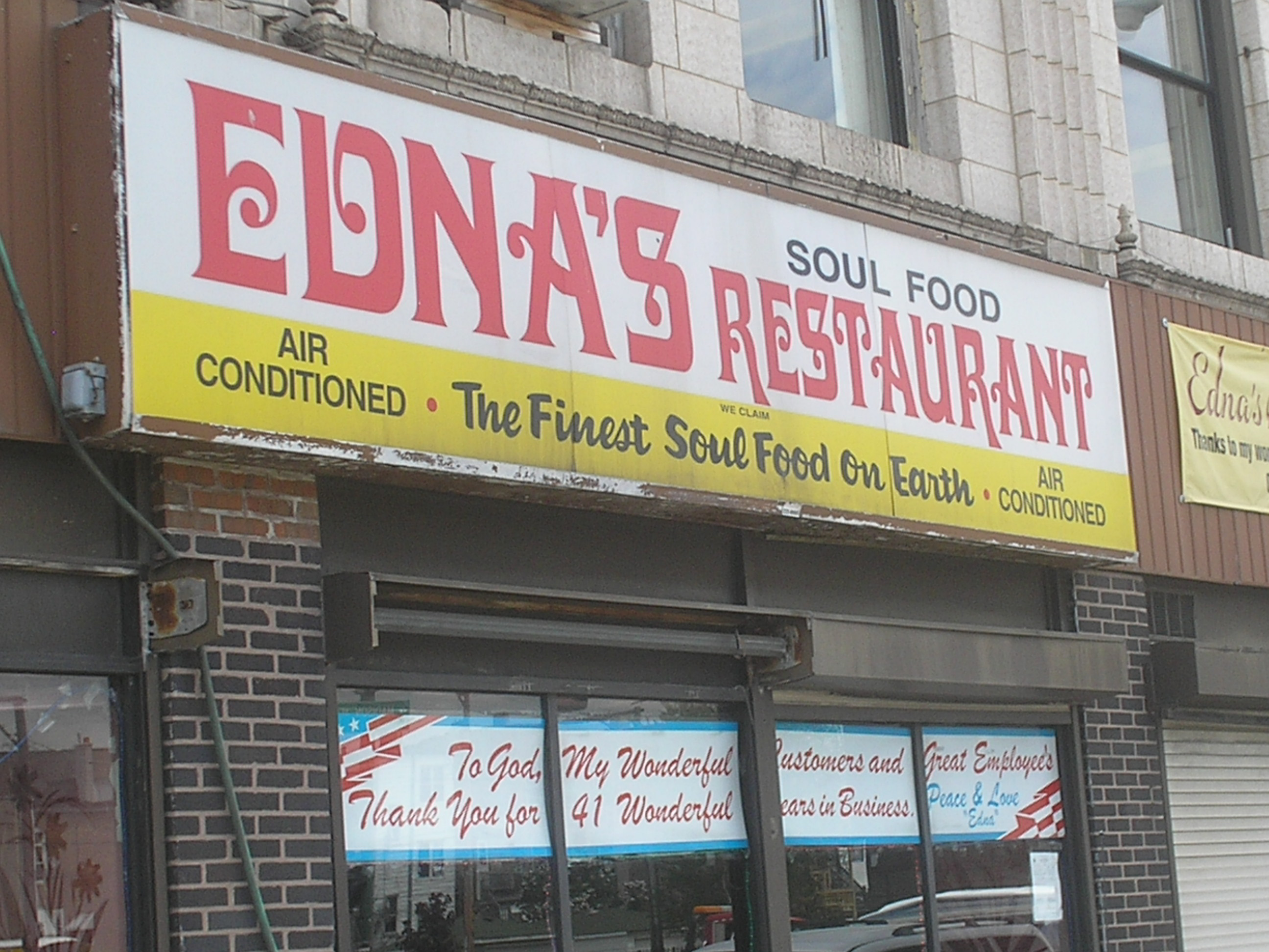 ednas front1 Food for Thought
